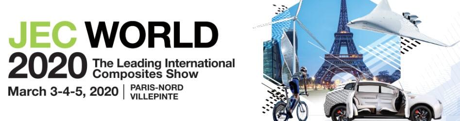 Fogepack Systèmes sera présent au Salon JEC WORLD 2020 à Paris les 03 – 04 et 05 mars 2020
