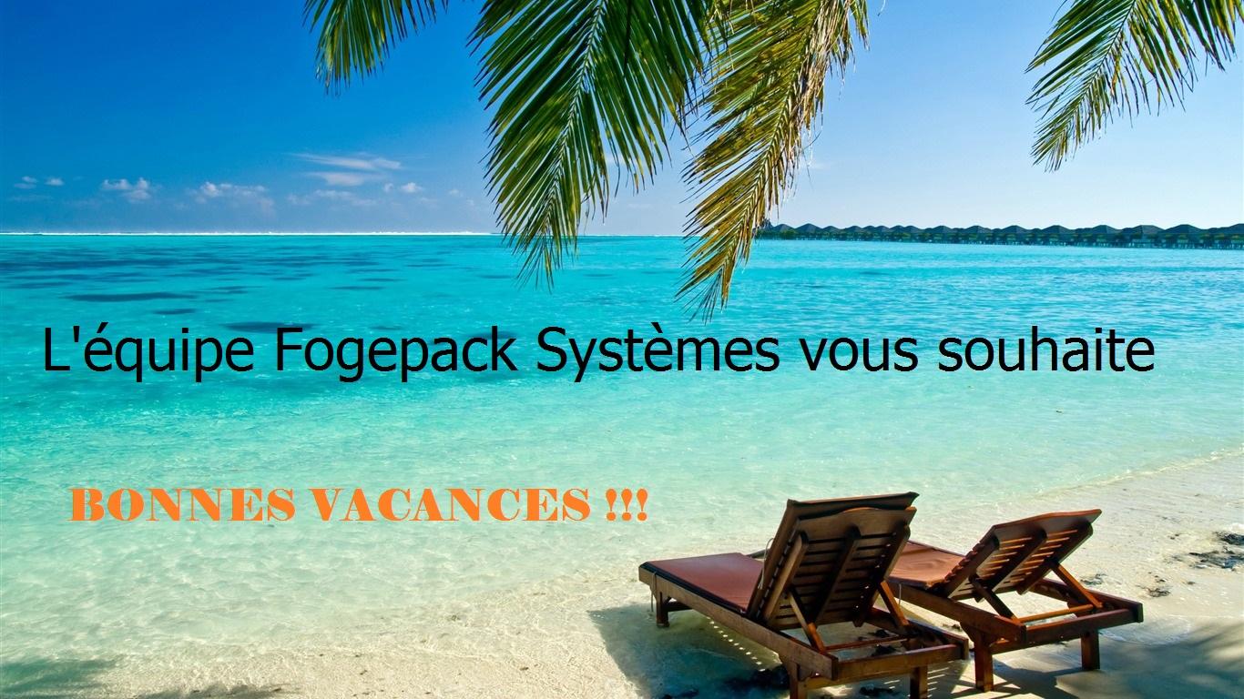 Fogepack Systèmes reste ouvert pendant tout l'été