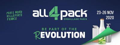 Fogepack Systèmes sera présent au Salon ALL4PACK 2020 du 23 au 26 novembre