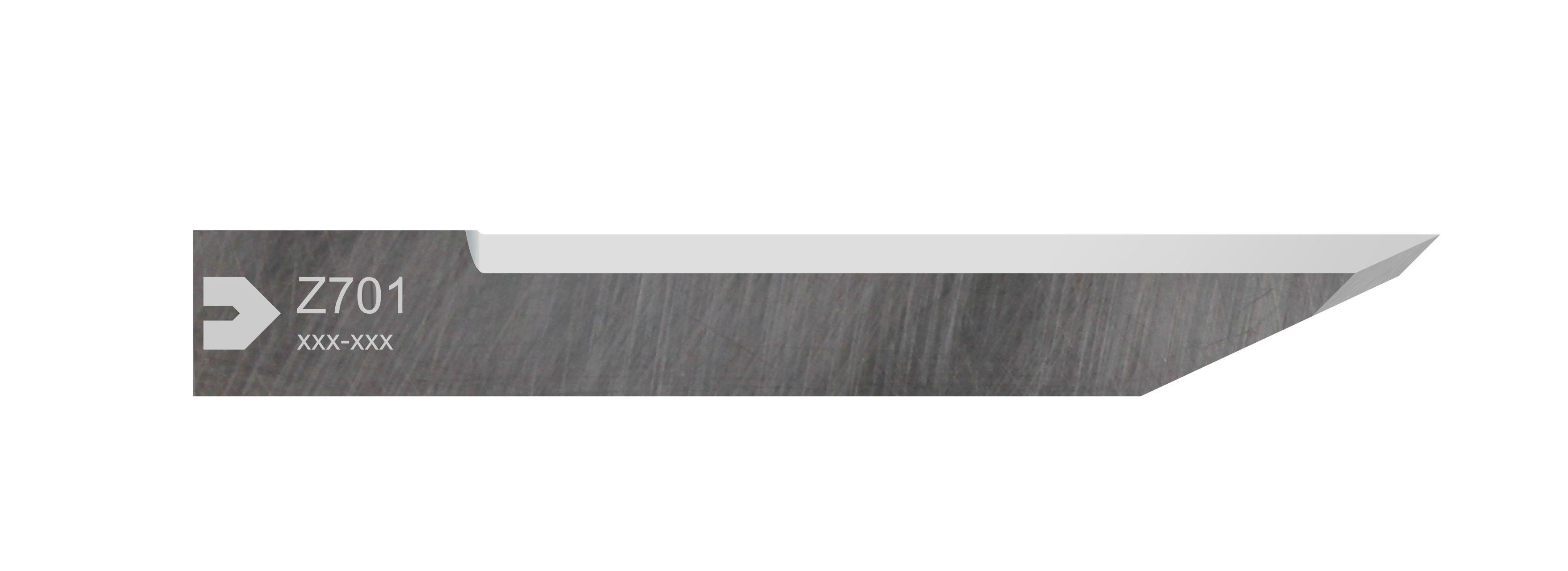 ZÜND nouveauté – lame Z701 pour l'outil de découpe inclinée VCT2